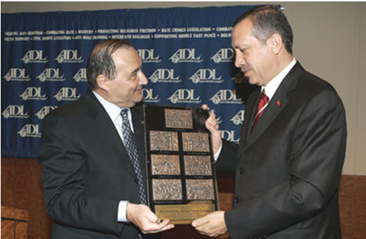 2005  Anti-Defamation League (ADL) Courage to Care